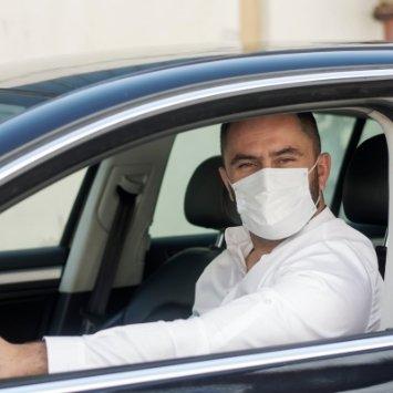 Port masque obligatoire dans taxi 13